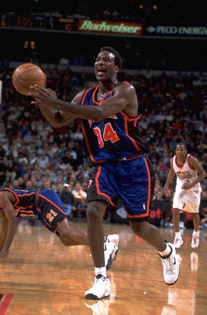 Charles Oakley Knicks